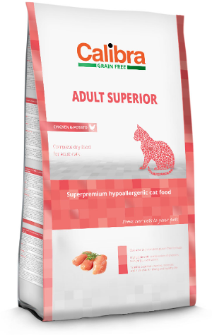 Calibra Cat Grain Free Adult Superior / Chicken & Potato